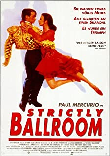 Strictly Ballroom POSTER Movie (11 x 17 Inches - 28cm x 44cm) (1992) (German Style A)