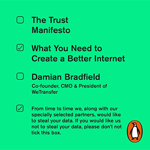 The Trust Manifesto  By  cover art