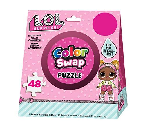 Cardinal Games   Puzzle Color Change L.O.L Surprise (Asst) 6053795 Multicolor