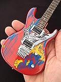 Joe Satriani Signature Silver Surfer Mini Réplica de Guitarra Coleccionable
