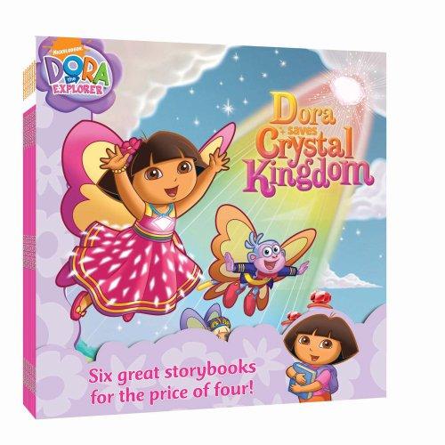 "Nick 8x8 Value Pack #1: Dora Loves Boots; Dora Saves Crystal Kingdom; Show Me Your Smile!; Dora Saves the Snow Princess; Say ""Ahh!""; Super Babies (Dora the Explorer)"