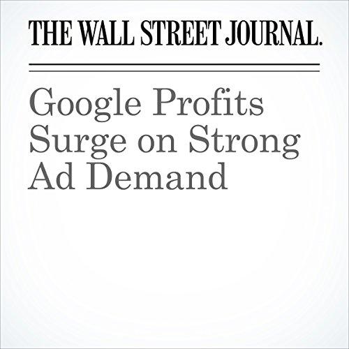 Google Profits Surge on Strong Ad Demand cover art