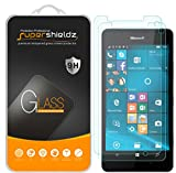 (2 Pack) Supershieldz Designed for Microsoft Lumia 950 Tempered Glass Screen Protector, Anti Scratch, Bubble Free