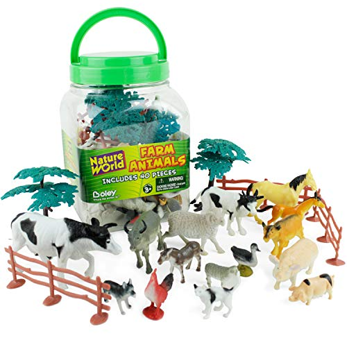 Top 10 best selling list for bucket of farm animals