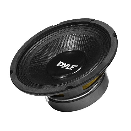 12 Inch Car Midbass Woofer - 700 Watt High Powered Car Audio Sound Component Speaker System w/High-Temperature Kapton Voice Coil, 35Hz-4kHz Frequency, 90 dB, 8 Ohm, 60 oz Magnet - PylePro PPA12