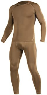 М-Tac Thermal Underwear Set for Men Base Layer Fleece Lined Top & Bottom Ultra-Soft