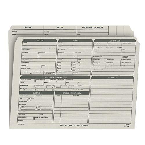 Real Estate Listing Folder