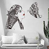 whmyz Pegatinas de la Pared de la Belleza Fondo de la Sala de Estar de la Pared Dormitorio Decorativo Pintura Decorativa Set extraíble 4