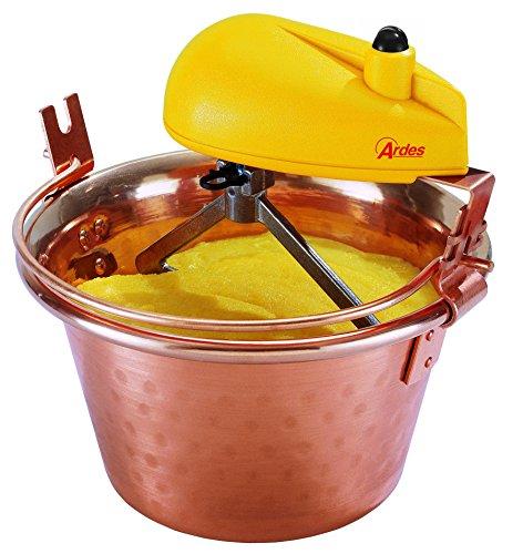 Ardes AR2480 Paiolo In Rame Per Polenta e Marmellata Porzioni Per 8/12 Persone Diametro 28 cm