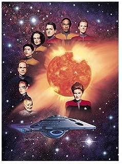 Star Trek Voyager Cast Mini Print