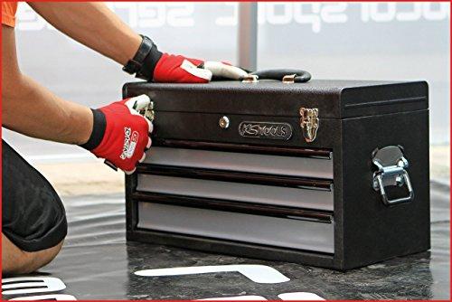 KS Tools 801.0003 Werkzeugtruhe mit 3 Schubladen-schwarz, L508xH255xB303mm - 6