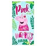 oeko-tex Micro de Peppa Pig. Referencia Playa lavarse la Cara-Toallas Textiles del hogar...