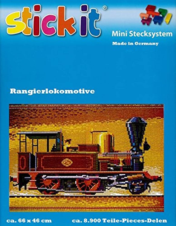 Stickit Mini Stecksystem Rangierlokomotive braun ca. 8.900 Teile Nr. 42144 B0792VF1F8 | Deutschland Store