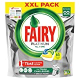 Fairy Platinum Dishwasher Tablets Lemon 65 Per Pack