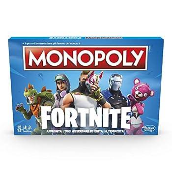 Hasbro Monopoly Fortnite Game Italian Version