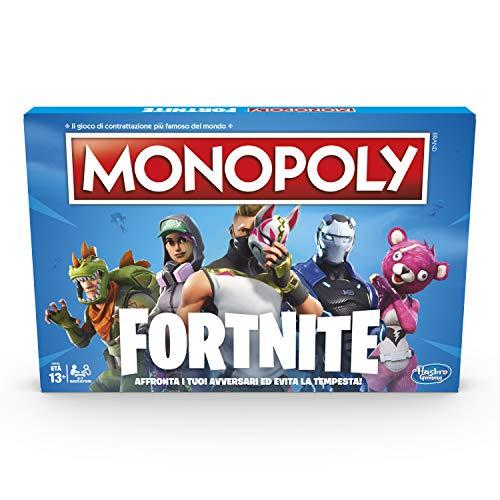 Hasbro - Juego de Mesa Monopoly, edición Fortnite, Idioma español no garantizado...