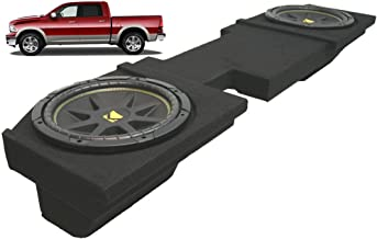 Compatible with Dodge Ram 2002-2013 Quad or Crew Cab Truck Dual 10