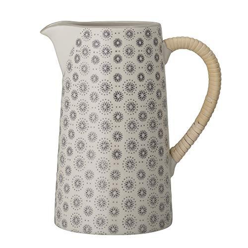 Bloomingville Krug Elsa, grau, Keramik