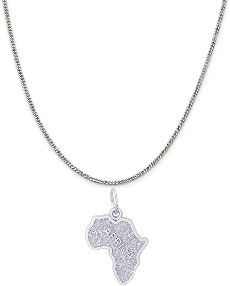 Max 57% OFF Max 42% OFF Rembrandt Charms Sterling Silver Africa mm x 18.5 14.5 Charm