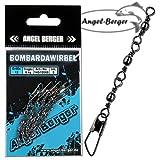Angel-Berger Dreifach Bombardawirbel Sbirulinowirbel 5 Stück Wirbel