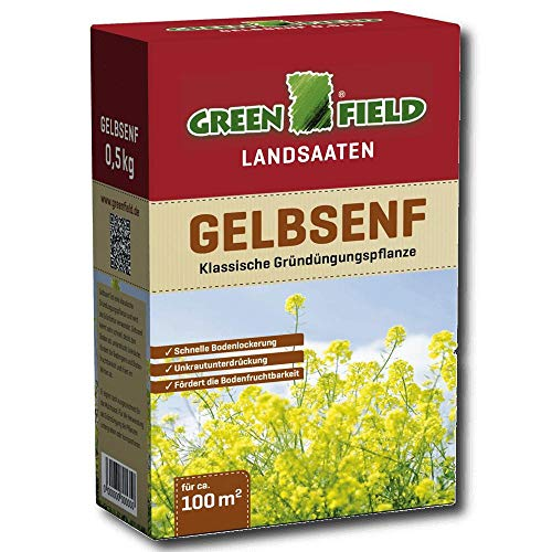 Greenfield 63715 Cultures Dérobées 500 G pour Env. 100 Qm - Engrais Vert Gründüngungsplfanze