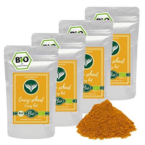 Azafran BIO Edel Curry Currypulver indisch (scharf) Madras Richtung 1kg