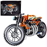 Bybo Modelo de moto de técnica de carreras compatible con Lego Technic.