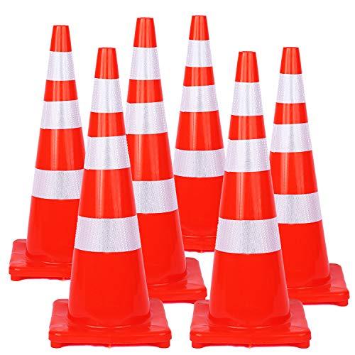 traffic cones reflective collars - 6