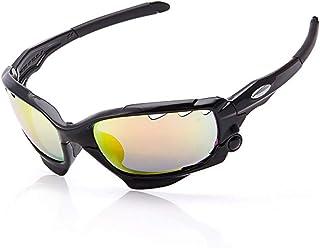Belleashy Ciclismo Gafas Tres Tabletas Multicolor Hombres Gafas De Sol Al Aire Libre Ciclismo