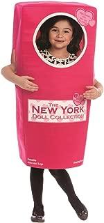 Dress Up America Disfraz de muñeco New York Doll Box