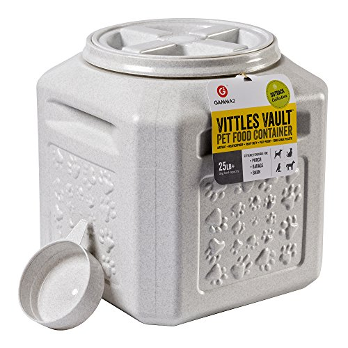 Discover Bargain Vittles Vault Outback 25 lb Airtight Pet Food Storage Container