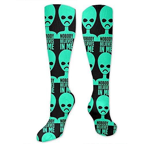 WlyFK Calcetines de compresin 3D para hombre, diseo de disfraz, calcetines de compresin divertidos, calcetines de bota para senderismo, vacaciones, astrologa, cielo estrellado, vector