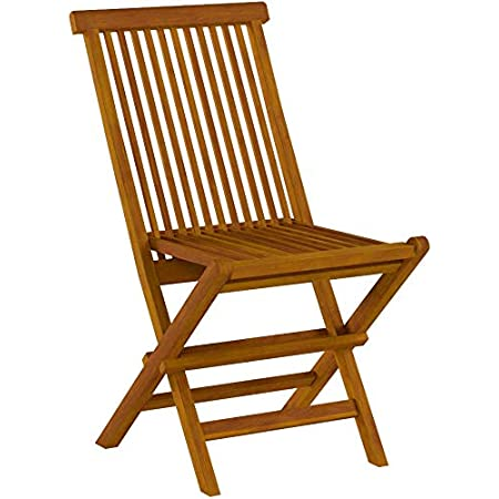 Bare Decor Bare Dc1021 Vega Outdoor Folding Chair Set Of 2 Teak Patio Dining Chairs Garden Outdoor