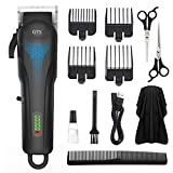 Men Hair Clippers Cordless Hair Trimmer, MIGICSHOW Beard Trimmer Haircut Grooming Kit for ...