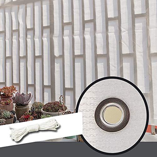 YXX-Filet d'ombrage Clôture De Jardin Filet D'ombrage Avec Fixations Et Œillets - Blanc 85% Résistant Aux UV Toile D'ombrage Pour Arbres, Pergola Et Terrasse (Size : 2mx5m)