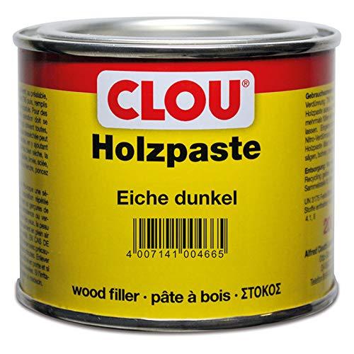 CLOU Holzpaste lösungsmittelhaltig 12 eiche dunkel 0,2 kg