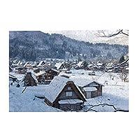 300ピースのパズル,MAOAVパズル,日本の風景,自然の風景,装飾画,環境に優しく無毒(38X26 cm)