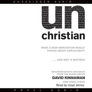 unChristian audiobook cover art
