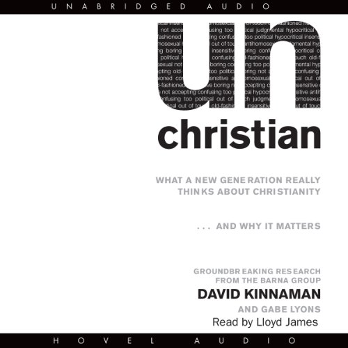 unChristian audiobook cover art