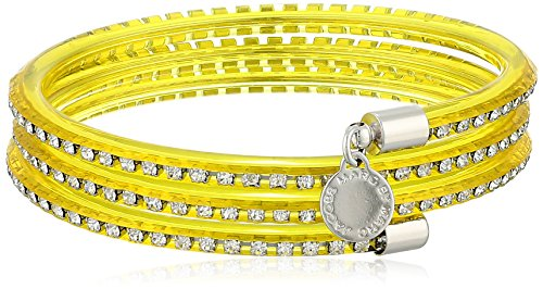 MARC BY MARC JACOBS Safety Yellow Slinky Bangle Bracelet, 2.2''