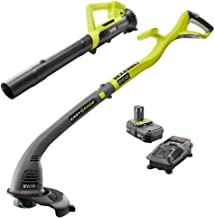 Ryobi One ONE+ 18-Volt Lithium-Ion String Trimmer/Edger and Blower Combo Kit 2.0 Ah..