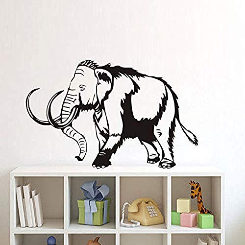 Decals Sticker Floral Elephant Elephas room Feng shui Feng Shui Motorbike Waterproof Vinyl 5 X 3,48 Inches Color