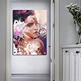 Geiqianjiumai Imagen Abstracta Moderna impresión gráfica en Lienzo Imagen de Arte decoración de la Sala póster para el hogar Pintura sin Marco 60x90cm