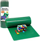 Brick Building Play Mat by SCS - Rollable, 2-Sided Silicone Playmat -...