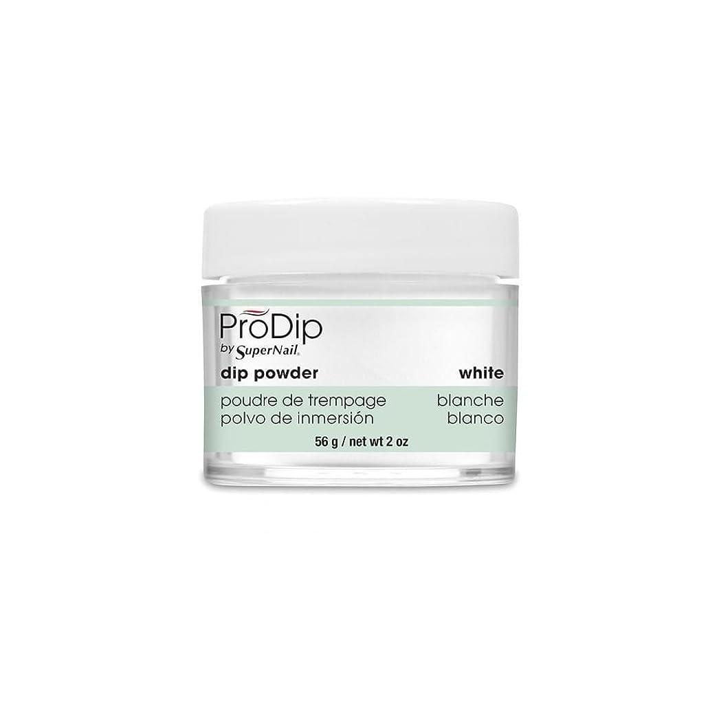 後方瞑想するチキンSuperNail - ProDip - Dip Powder - White - 56 g/2 oz