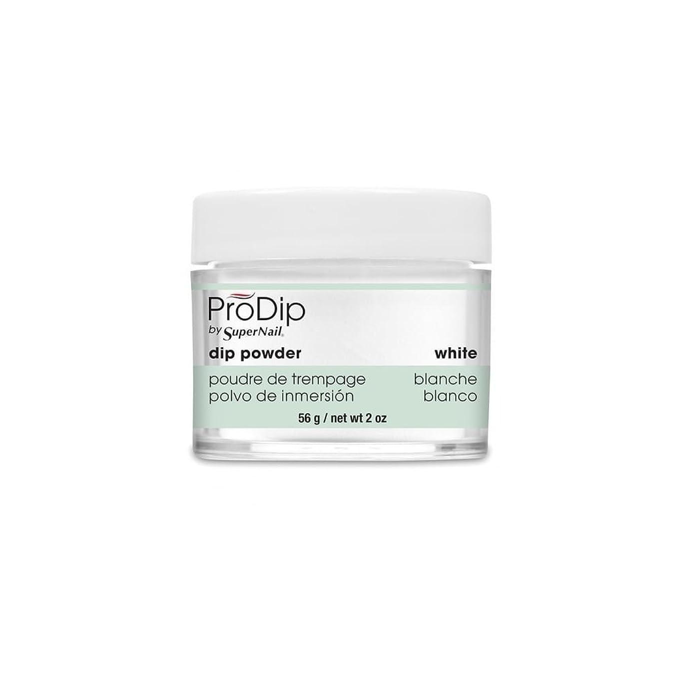 上流の癒す満足させるSuperNail - ProDip - Dip Powder - White - 56 g/2 oz