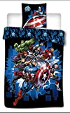 Marvel Avengers Kids Duvet Cover and Pillow case Set 100% Polyester