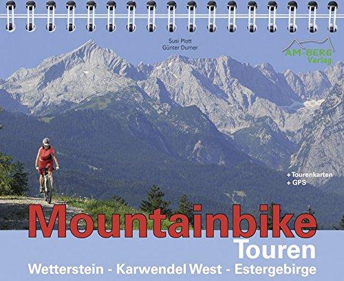 Mountainbike Touren Wetterstein - Karwendel West - Estergebirge: Band 1