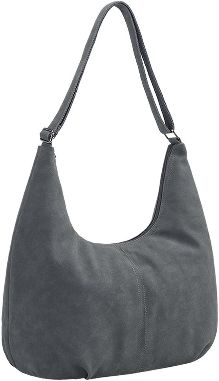 Womens Purse Top Handle Suede Totes Hobos Shoulder Bags Handbags