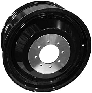 20 x 12. inches //6 x 135 mm, -44 mm Offset FUEL Vapor MBD-Matte BLK MACH Wheel with Painted